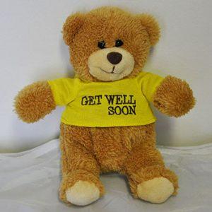 "15cm ""Sharon"" 'Get Well Soon' Bear"