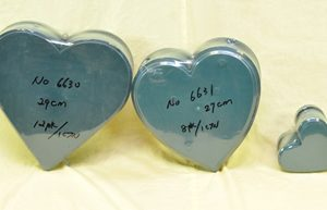 Heart Wet Foam - Pack of 2 - 29cm