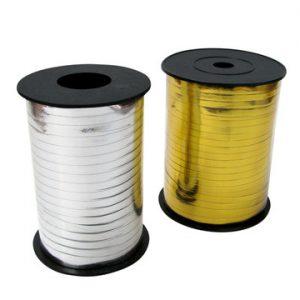 Metallic Curling Ribbon - 5mm x 500Y
