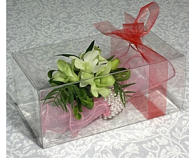 Rigid Corsage Box with Lid