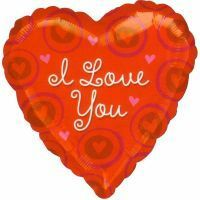 "I Love You Hearts 36"" Jumbo Balloon"