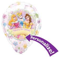 "Princess Birthday Floral 18"" Balloon"