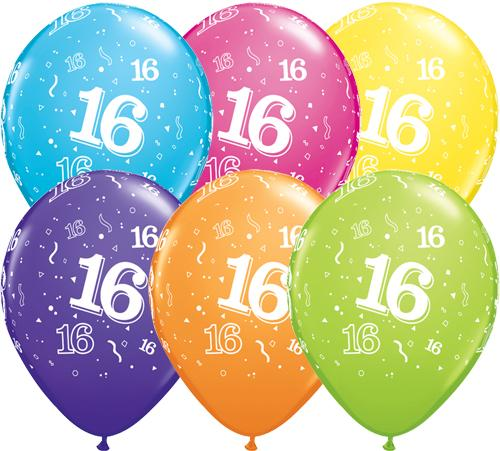 11 Printed Latex Balloon