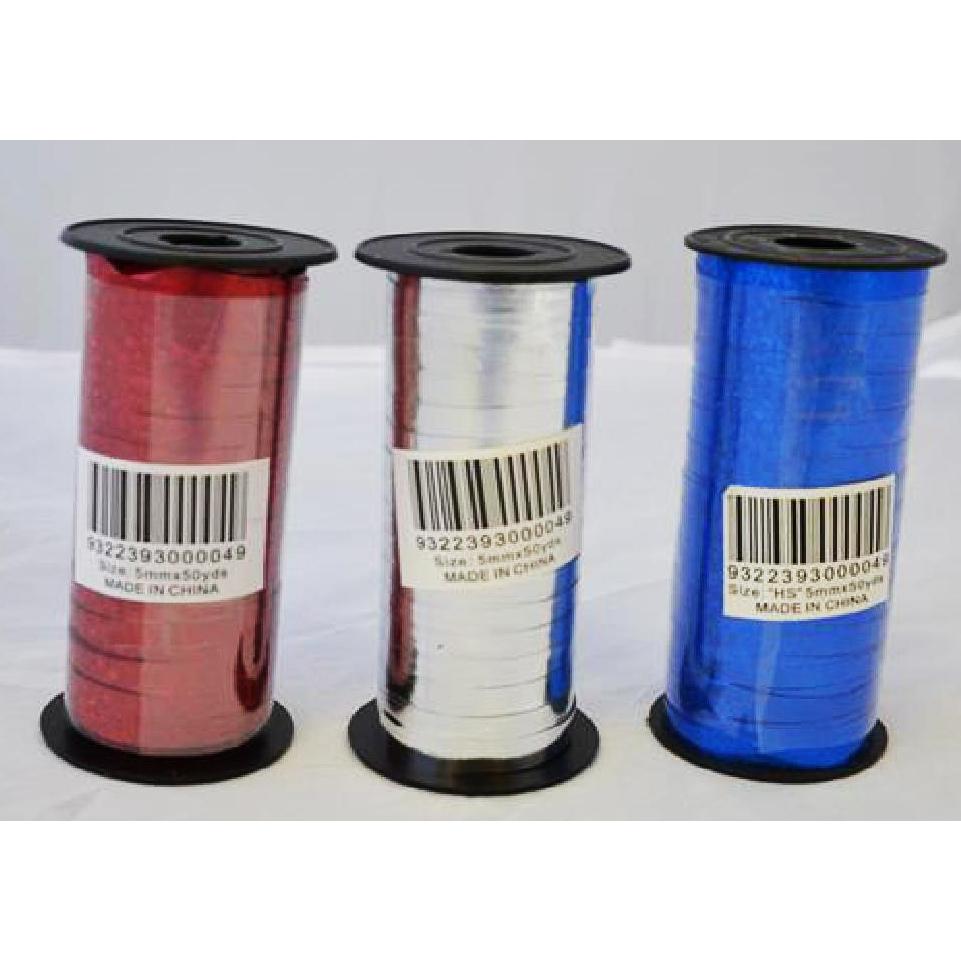 Metallic Curling Ribbon - 5mm x 50Y