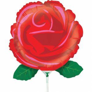 6151_Single_Red_Rose_folie_ballon_k