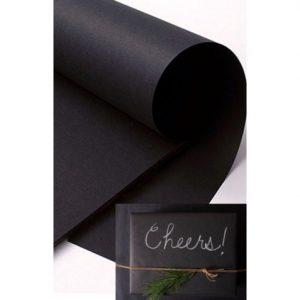 BLACK CHALKBOARD PAPER