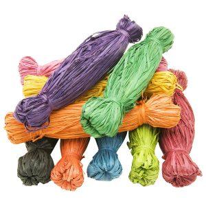 Coloured Raffia - 250grams