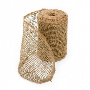 Hessian Ribbon - 100mm x 10m