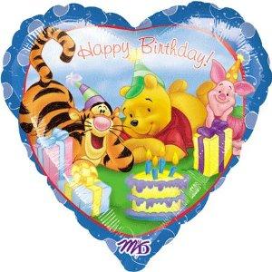 "Winnie The Pooh Birthday 18"" Balloon"