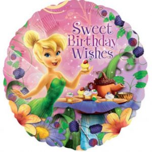 "Tinkerbell Birthday Wishes 18"" Balloon"