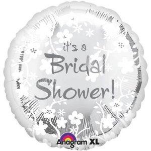 "It's A Bridal Shower 18"" Balloon"