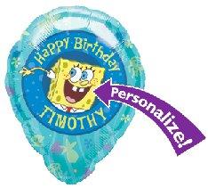 "Spongebob Birthday 18"" Balloon"